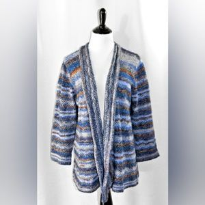 EUC Alfred Dunner Open Sweater Cardigan Duster